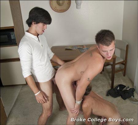 gay porn college boys Broke