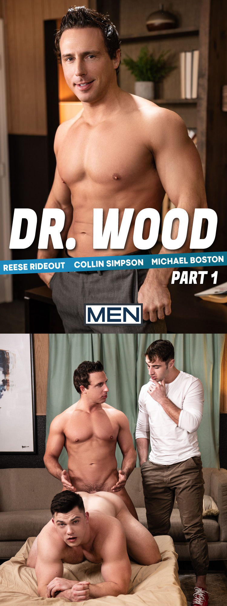 Reese Rideout is Doctor Wood